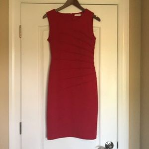 Calvin Klein red hot dress!!